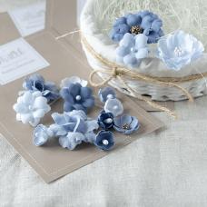 """Набор цветов Pastel Flowers """"Синий микс"""""""