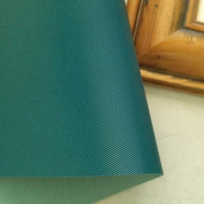 Переплетный кожзам синего цвета с тиснением под джинсу 35х50 см