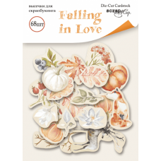 Набор высечек для скрапбукинга Falling in Love