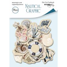 Набор высечек для скрапбукинга Nautical Graphic