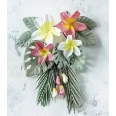 Набор цветов Pastel Flowers Тропики