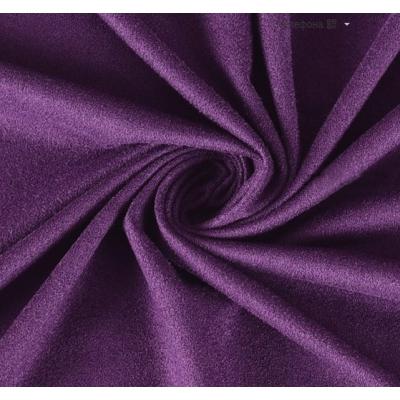"Замша односторонняя ""Турецкий фиолет"", 25х70 см"