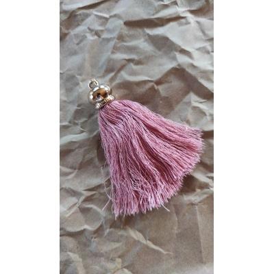 Кисточка шелковая 8,5 см, розовая