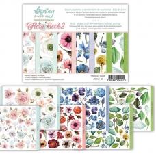 "Набор бумаги 15х20 см Mintay papers ""Flora Book 2"", половинка"