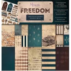 """Набор бумаги """"Freedom"""" 30,5 на 30,5 см"""