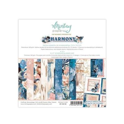 "Набор бумаги 15х15 ""Harmony"" от Mintay Papers, половинка"