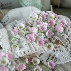 Набор цветов Pastel Flowers Малыши розовые