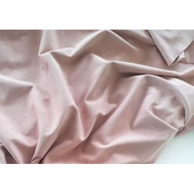"Замша двухсторонняя ""Розовая пастель"", 25х70 см"