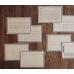Ретро стикеры из крафт-бумаги