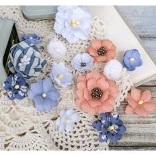 "Набор цветов Pastel Flowers ""Морской"" коралл"
