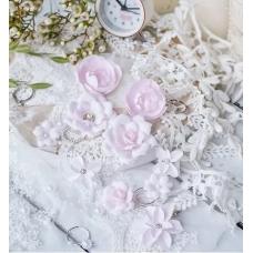 "Набор цветов Pastel Flowers ""DIAMOND"" розовый"