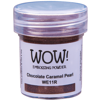 Пудра для эмбоссинга WOW Chocolate Caramel Pearl