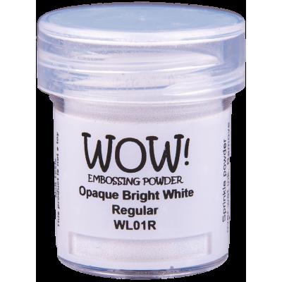 Пудра для эмбоссинга WOW Opaque Bright White