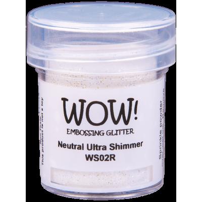 Пудра для эмбоссинга WOW Neutral Ultra Shimmer