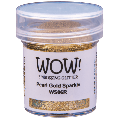 Пудра для эмбоссинга WOW Pearl Gold Sparkle