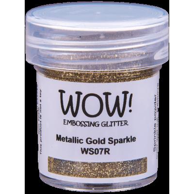 Пудра для эмбоссинга WOW Metallic Gold Sparkle