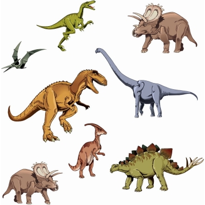 Акриловые фигурки Динозавры, Cristina Petrova