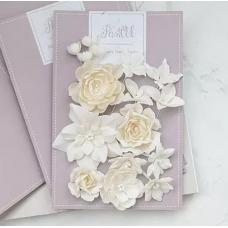 """Набор цветов Pastel Flowers """"Базовый микс"""" - молочный"""