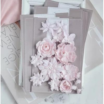 Набор цветов Базовый микс - розовый