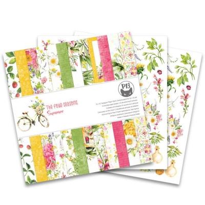 """Набор бумаги 30х30 """"The four seasons - Summer"""" от P13, половинка"""