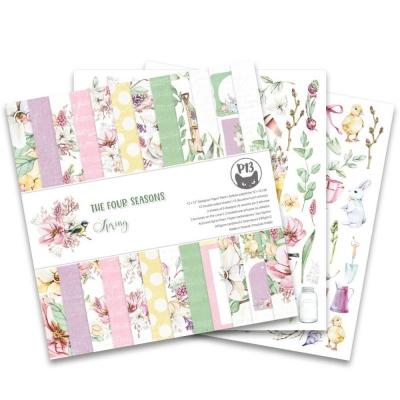 "Набор бумаги 30х30 ""The Four seasons - Spring"" от P13, половинка"