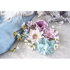 """Набор цветов Pastel Flowers """"Цветочный блюз"""" фиолет"""