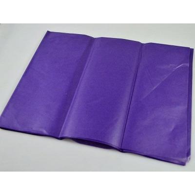 Бумага тишью 50*66см, упак. 10шт, фиолетовый