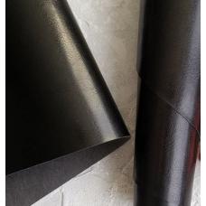 Переплетный кожзам черный (под шевро) глянец 35х50 см