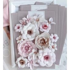 """Набор цветов Pastel Flowers """"DIAMOND"""" бежево-розовый"""