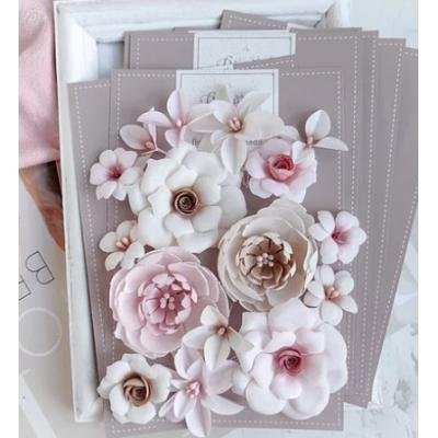 """Набор цветов """"DIAMOND"""" бежево-розовый"""