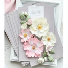 Набор цветов Pastel Flowers Шиповник розовый