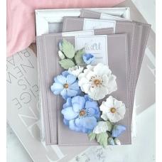 Набор цветов Pastel Flowers Шиповник голубой