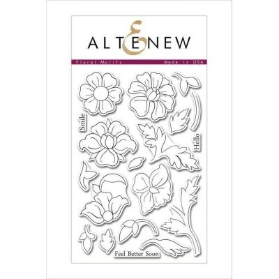 Штампы Altenew - Floral Motifs