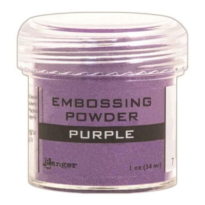 Пудра для эмбоссинга Opaque/Shiny Embossing Powders - Purple