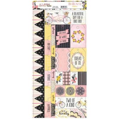 Стикеры Petal Lane Combo Stickers, BoBunny