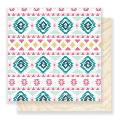 Лист 30х30 Sweater - Snow and Cocoa, Crate Paper