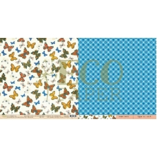 Лист Мотыльки - Атлас, 30х30, Eco Paper