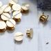 Хольнитены для кольцевых механизмов, цвет золото, высота ножки 0,4 см