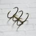 Кольцевой механизм на три кольца, диаметр 3 см, бронза