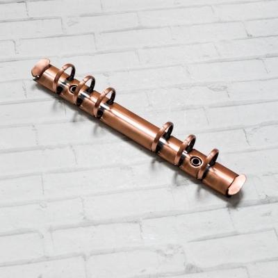 Кольцевой механизм а6 (17,5 см) на 6 колец, диаметр 2 см, медь (крепления в комплекте)