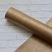 Отрез кожзама с полосатой текстурой, 33х50, цвет светло-коричневый с блеском