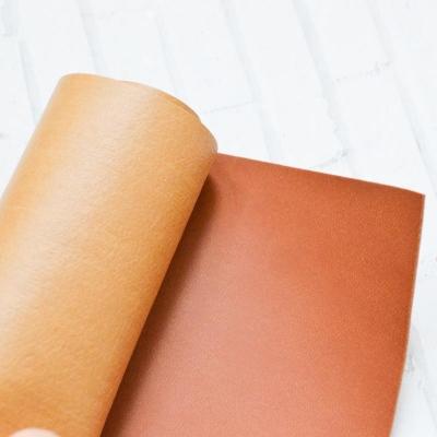 Отрез переплетного кожзама 35х50 см, цвет коричневый