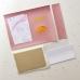 Набор для создания обложки на паспорт 7, пыльно-розовый с губами