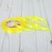 Лента атласная, 10мм, 23±1м, №15, цвет жёлтый Арт Узор