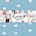 Набор бумаги Счастливая - Tea-Mood, размер 30,5 х 30,5 см, 12 листов: 10 двусторонних + для вырезания и с карточками