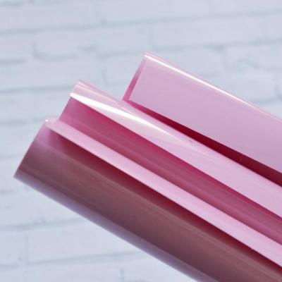 Отрез термотрансферной пленки 25х25 см, пастельный розовый
