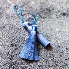 Кисточка 8,5 см, голубая
