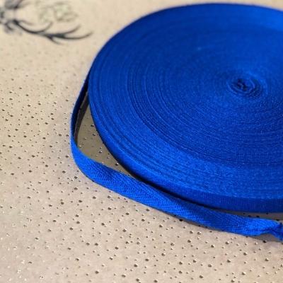 Киперная лента, ширина 1 см, отрез 1 м, синий