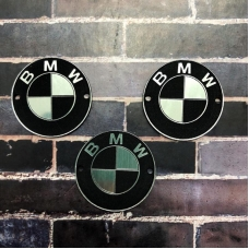 Табличка BMW 3 см, серебро