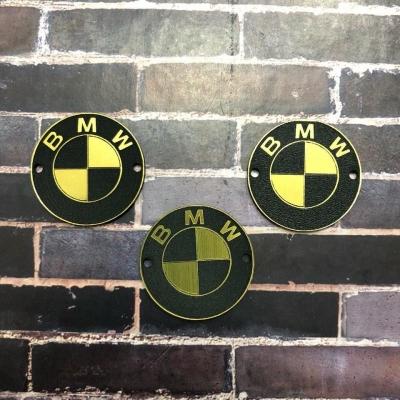Табличка BMW 3 см, золото